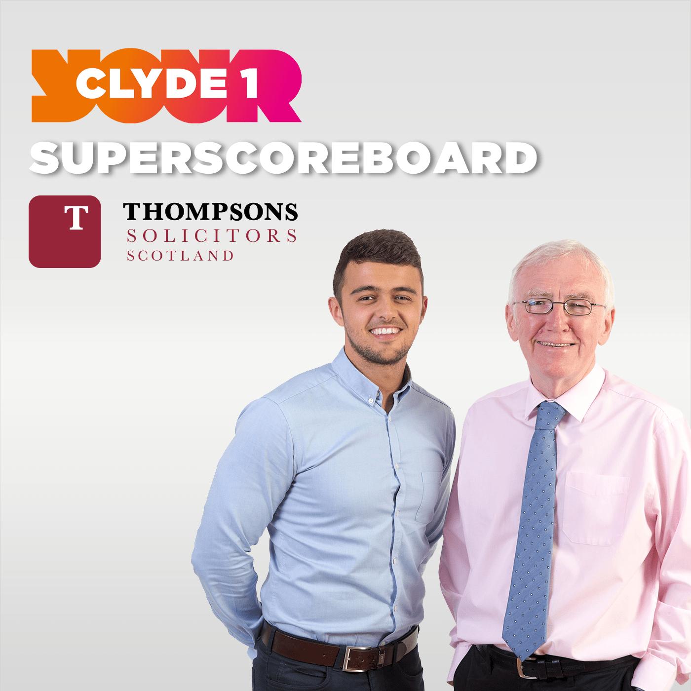 Monday 22nd April Clyde 1 Superscoreboard
